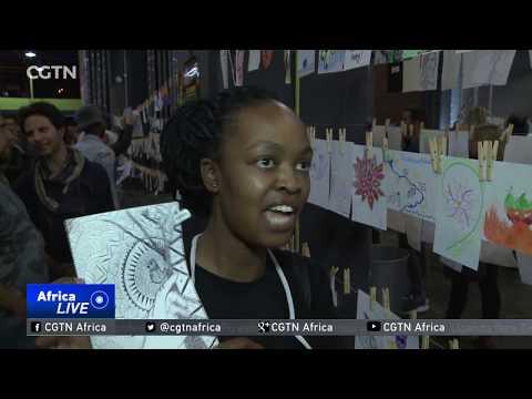 Johannesburg Inner-city art exhibition raises funds for education