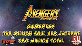 Avengers Infinity Quest LE Pinball Gameplay