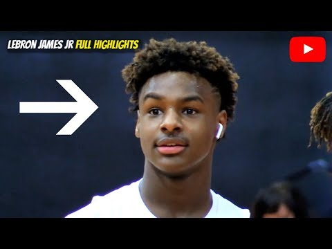 LeBron James Jr is Making A STATEMENT This Year! Son of The GOAT