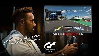Gran Turismo Sport - Monza (Diamond Lap) - Lewis Hamilton Challenge w/ Steering Wheel