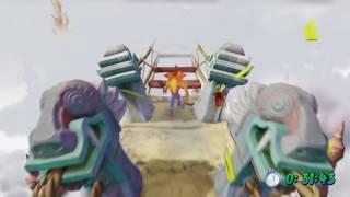 Crash Bandicoot N.Sane Trilogy - Road to Nowhere (Gold Relic)