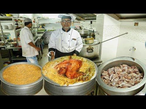 حیدرآبادی سوٹ۔ | چکن بریانی۔ | Hyderabadi Daawat Restaurant Special Chicken Biryani