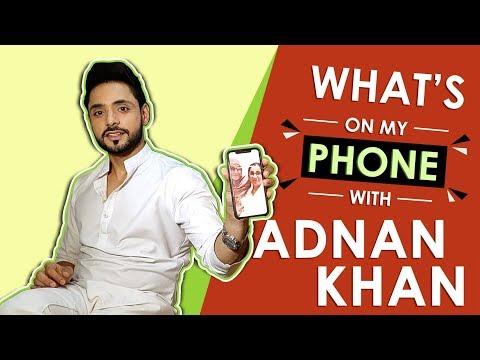 Adnan Khan Aka Kabir: What's On My Phone   Phone Secrets Revealed   Ishq Subhan Allah