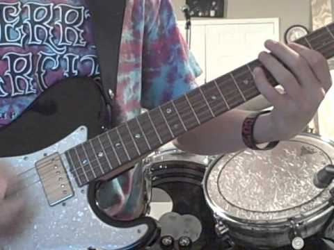 Kyle Abbott - Chiodos - Is It Progression If A Cannibal Uses A Fork (Guitar Cover)