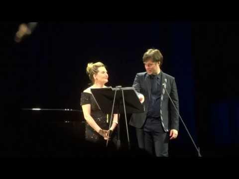 Rufus Wainwright Sings In Italian ;)) /w Janis Kelly, Festspielhaus St.Pölten, 9.March 2014