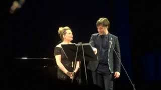 Rufus Wainwright sings in italian ;)) /w Janis Kelly, Festspielhaus St.Pölten, 9.March 2014