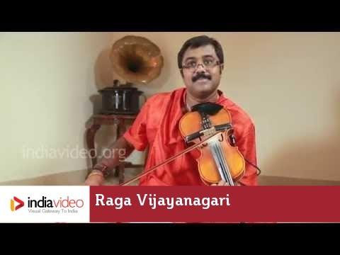 Raga Series - Raga Vijayanagari on Violin by Jayadevan