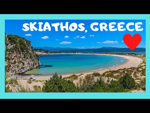 GREECE: The BEACHES of SKIATHOS island - the GOOD, the BEST and the real UGLY, what to see and avoid