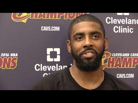 Kyrie Irving on Cavs repeating as NBA champions