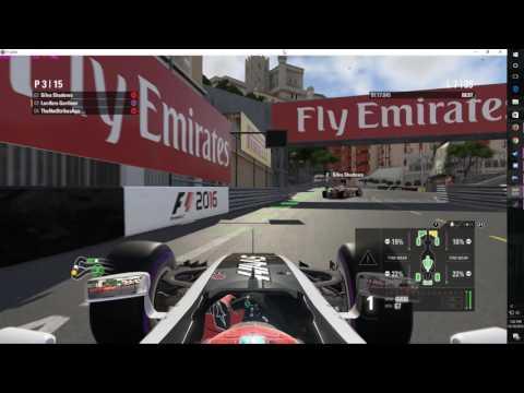 Aussie F1 League Race Circuit de Monaco