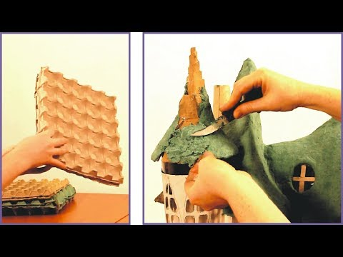❣DIY Paper Clay Using Egg Cartons❣