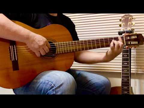 ฝึกทักษะ เพลง แพ้ใจ -  ใหม่ เจริญปุระ   (Finger Picking) Cover  By Kwang Uttaradit