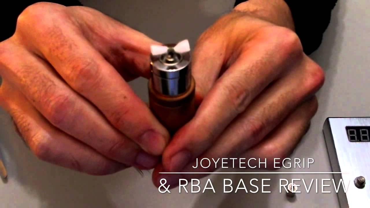 Joyetech eGrip電子煙和升級套件RBA Base的中文介紹與簡易評測 - YouTube