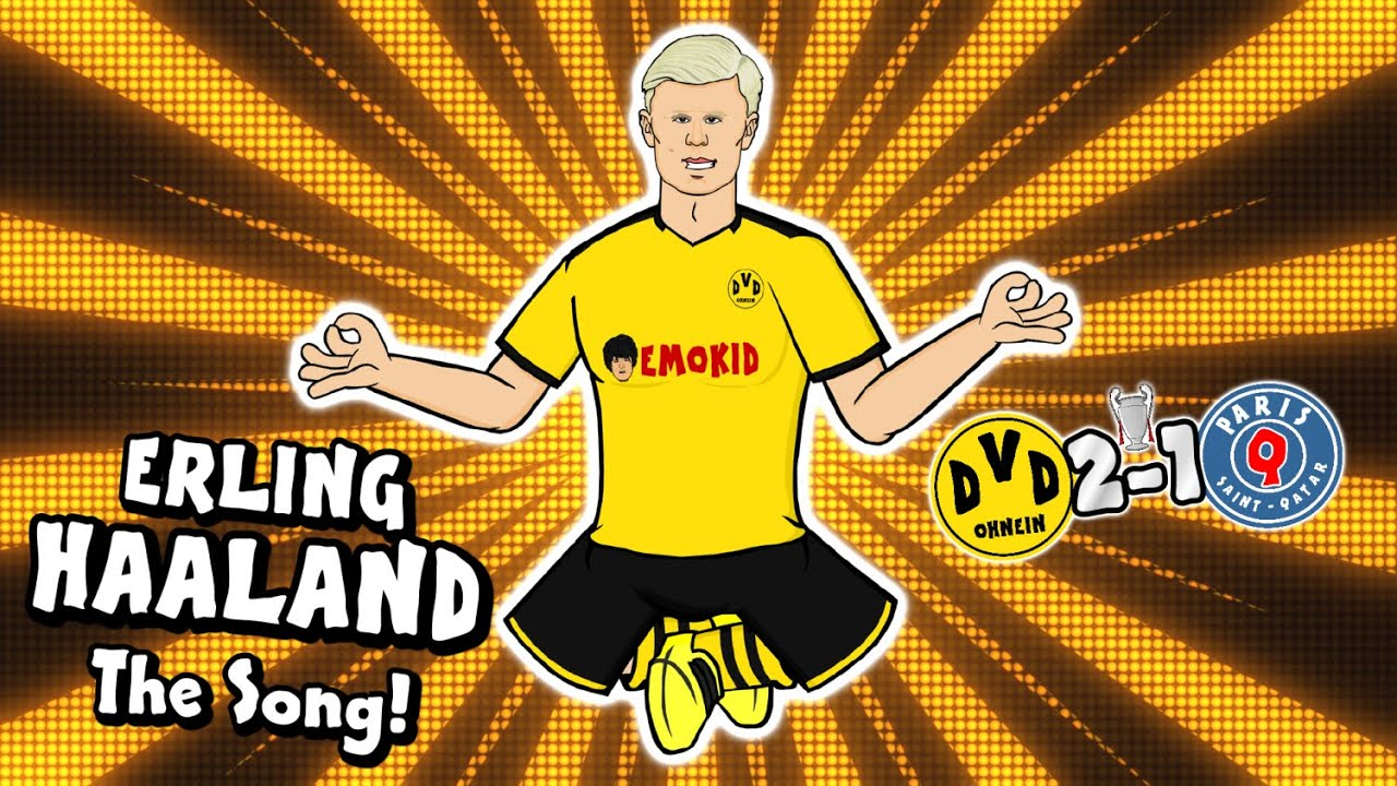 Download 💥Erling Haaland - the song!💥 (Dortmund vs PSG Parody Champions League Highlights Håland Wonder Goal)