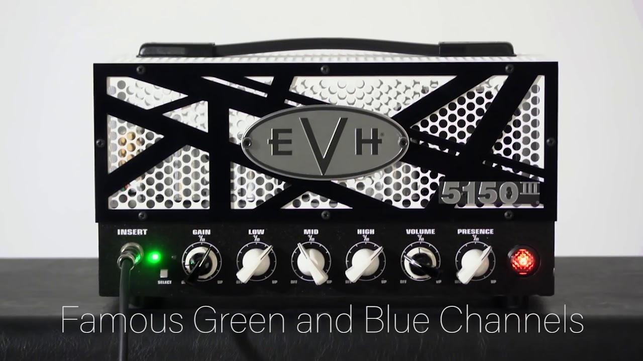 Introducing the EVH 5150III LBXII