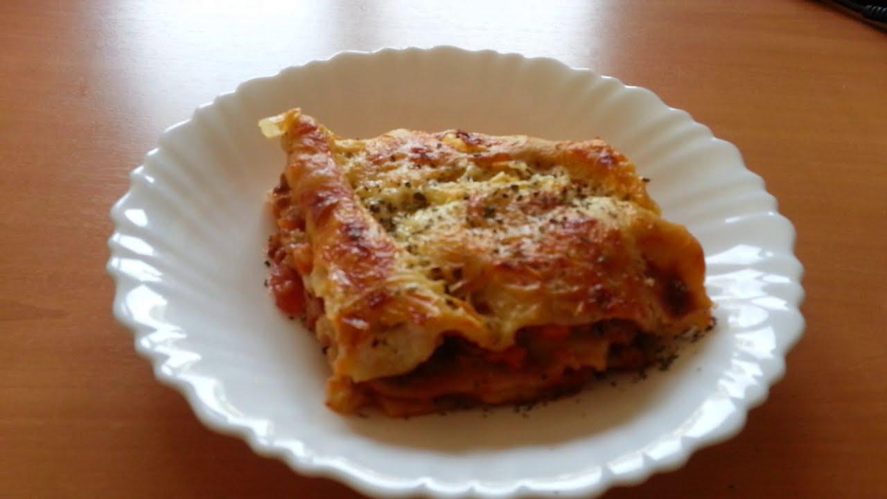 recette lasagne la bolognaise compl te tape par tape recipe lasagna bolognese step by step. Black Bedroom Furniture Sets. Home Design Ideas