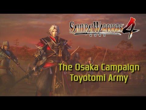 Samurai Warriors 4 [PS4] | Legend of the Sanada | The Osaka Campaign (Toyotomi Army)