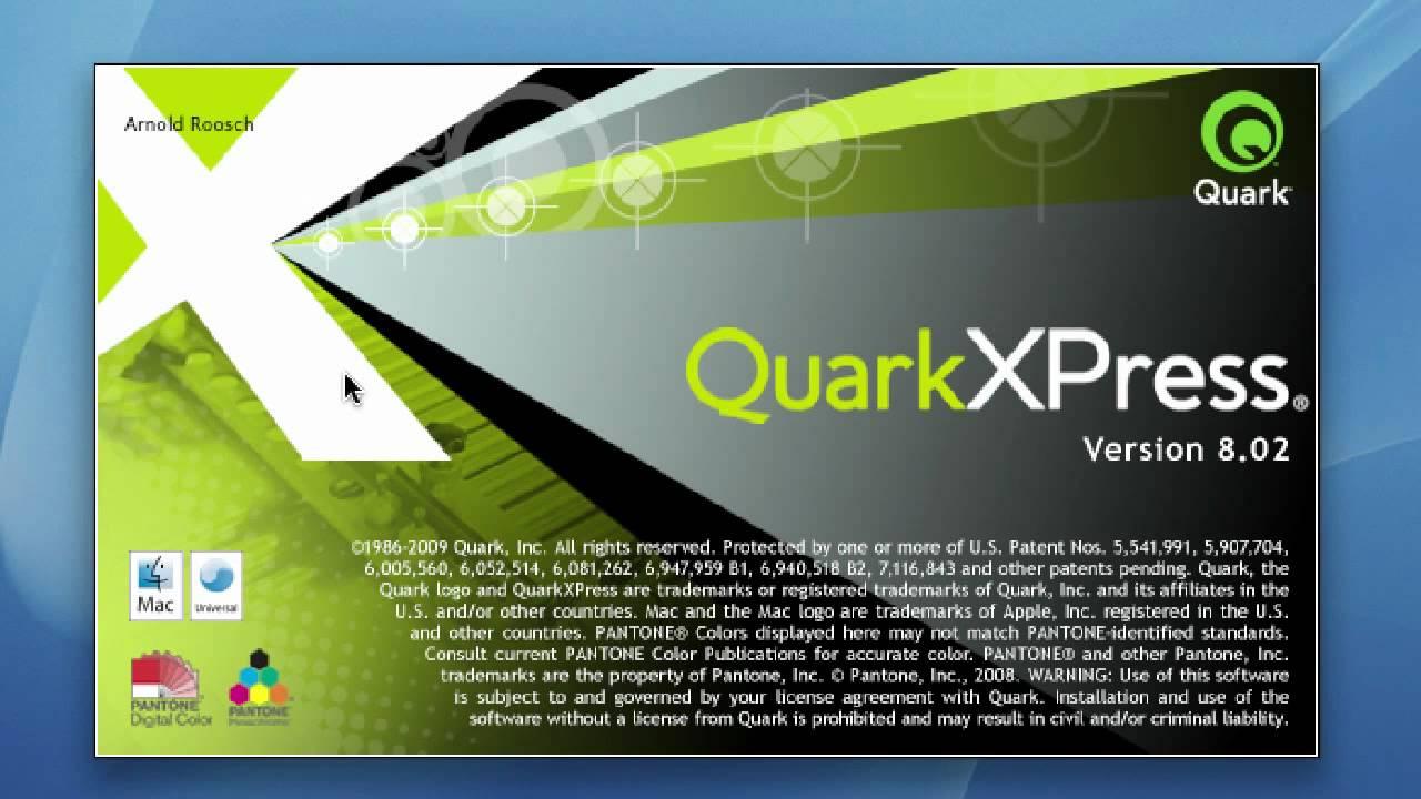 quarkxpress 8
