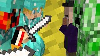Minecraft: MY AUSTRALIAN HALF! (Diversity Yellow Wool Challenge) - w/Preston & Lachlan