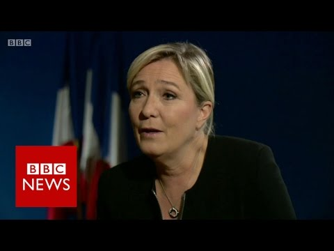 Marine Le Pen: Front National 'not racist' - BBC News