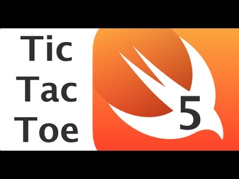 Swift Programming Tutorial Part 5: Making a Game (Tic Tac Toe with AI)
