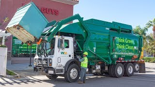 Mack MRU - Amrep HX-450-FL Front Load Garbage Truck