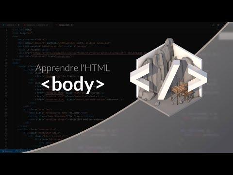 Apprendre L'HTML : Chapitre 8, Les éléments Textuels Body