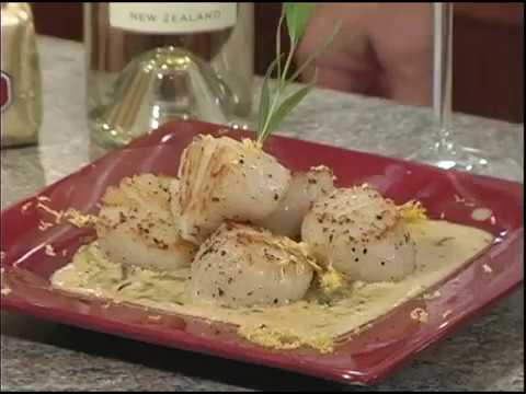 Scallops in Butter Wine Sauce