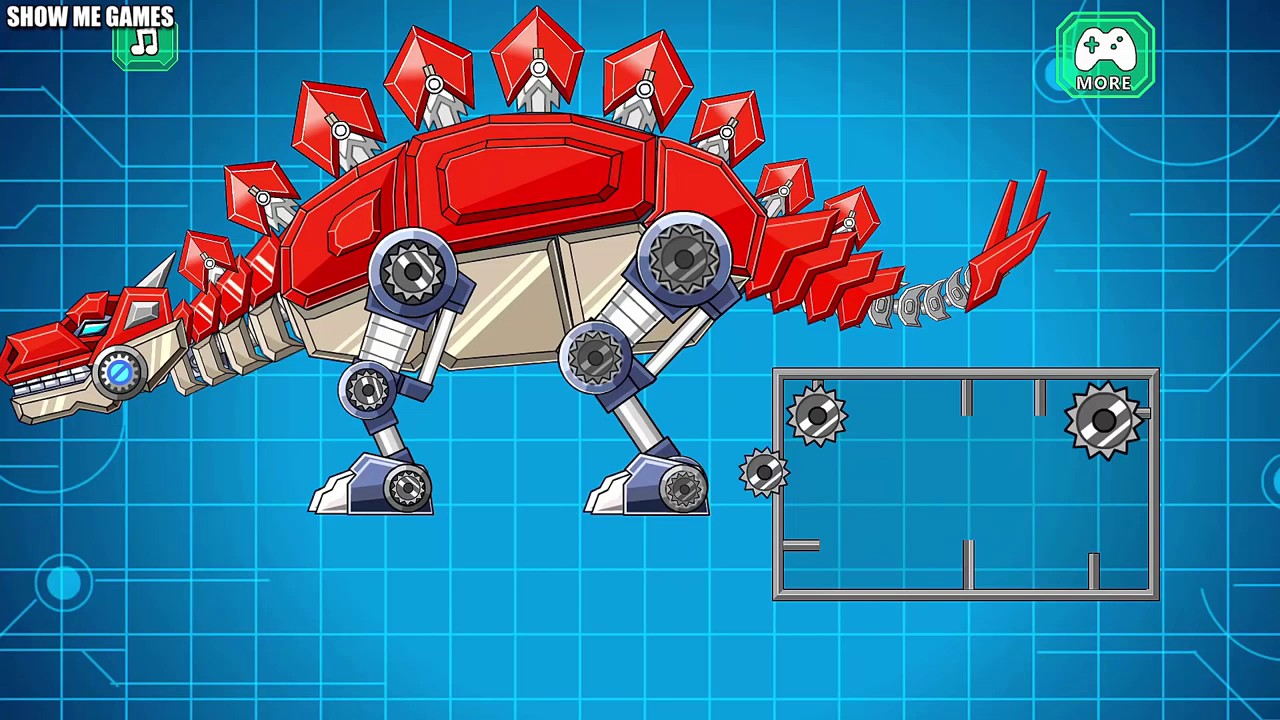 Dino Roboter Spiele