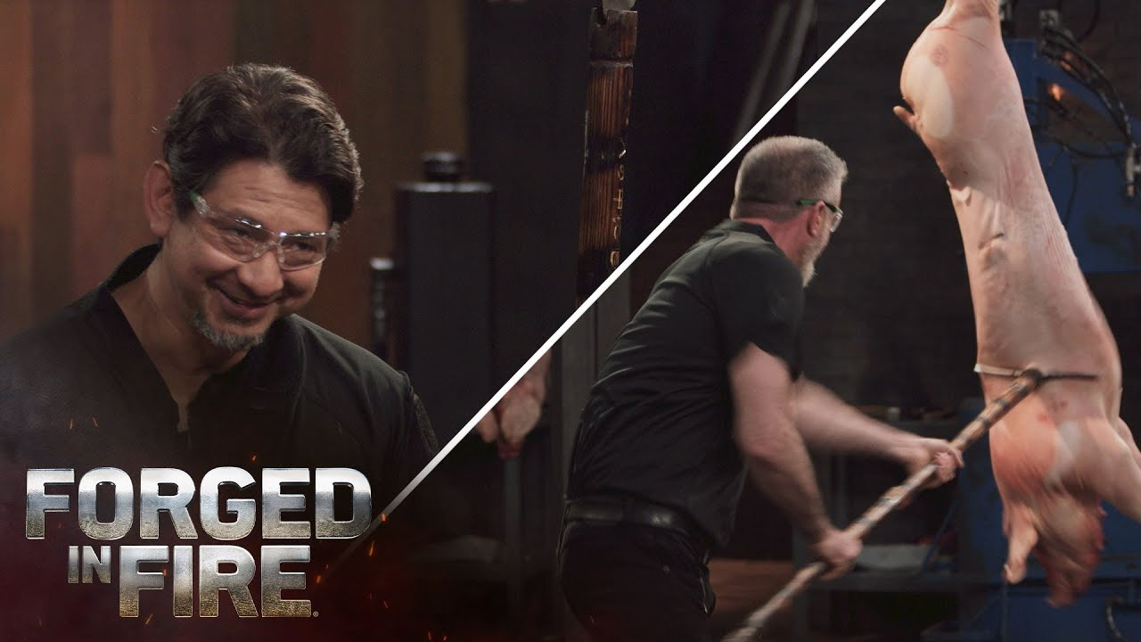 Download Forged in Fire: DOUBLE-EDGED Jumonji Yari SLAYS the Final Round (Season 5)