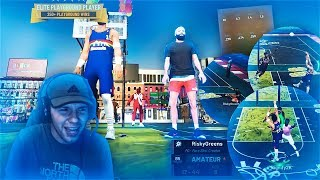 MY POST SCORER CARRIED A 10 YEAR OLD SUBSCRIBER TO VICTORY! UNGUARDABLE POST MOVES NBA 2K19