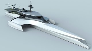 Origin 575 Sea explorer Yacht concept design
