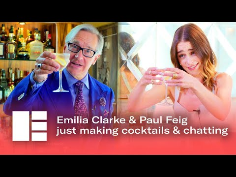 Emilia Clarke & Paul Feig