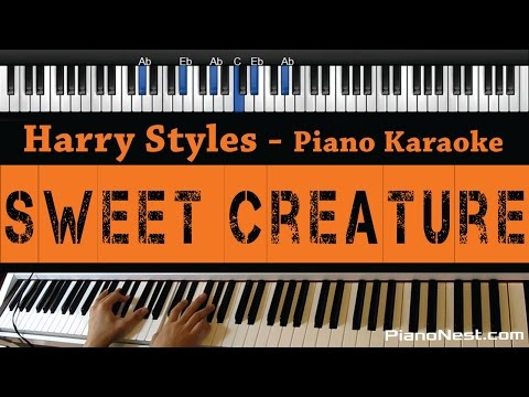 Harry Styles - Sweet Creature - Piano Karaoke / Sing Along / Cover with Lyrics