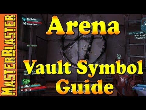 Torgue Arena Cult of the Vault Symbol Challenge Guide - Borderlands 2
