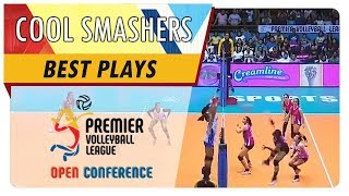 PVL OC 2018: Jema Galanza stares down Deanna Wong after off the block hit! | CCS | Best Plays