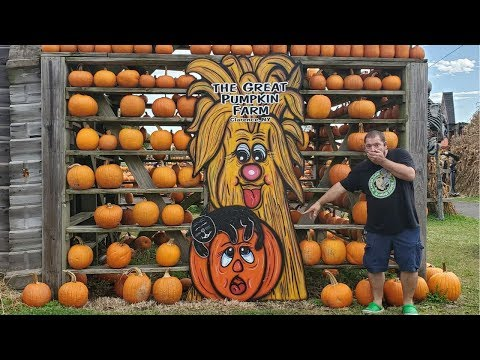 Vlog The Melt In OH And The Great Pumpkin Farm In NY