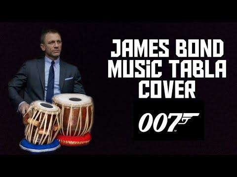 TABLA played on JAMES BOND THEME SONG|tirakita dha