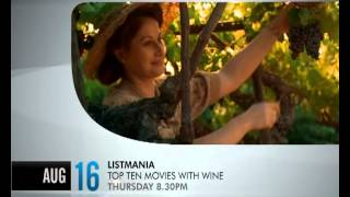 LISTMANIA - TOP 10 MOVIES WITH WINE  - Promo