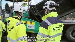 Uratarina: Aapo Lahtinen vastaa asfaltoinnin pohjatöistä NCC:llä