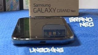 Galaxy Grand Neo Unboxing, First Boot & Overview | HD