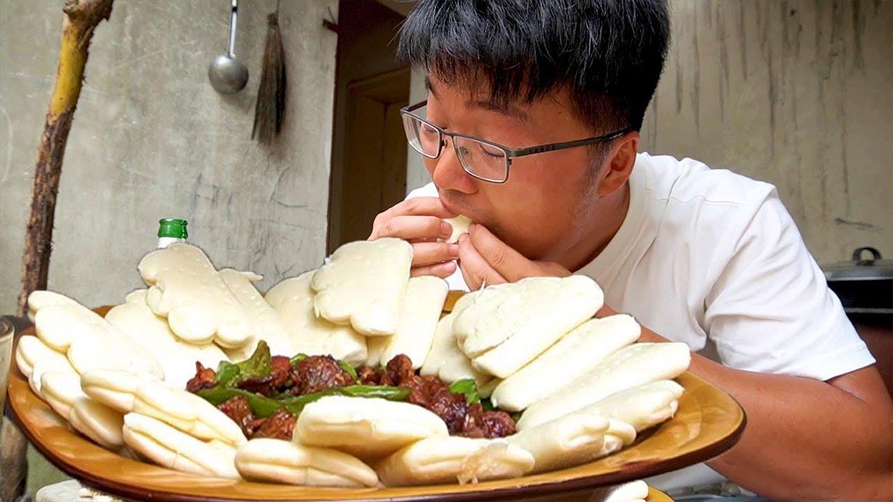 两斤梅花肉做一盘肉夹馍,配上啤酒和大蒜,真过瘾!【徐大sao】