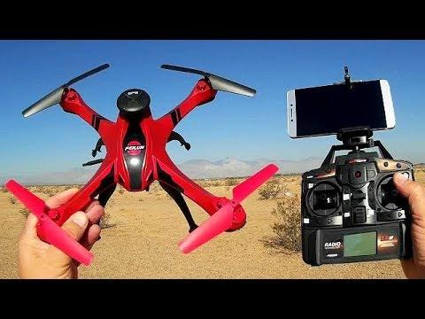 Feilun FX176C2 Cheap GPS Follow Me Drone Flight Test Review