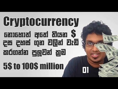 Cryptocurrency | Rs දහස මිලියනය කරන හැටි | Part 01 | myHub.lk