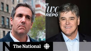 Sean Hannity revealed as 3rd Cohen client