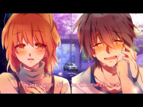 Nightcore - Hallelujah (Switching Vocals) - (Lyrics)