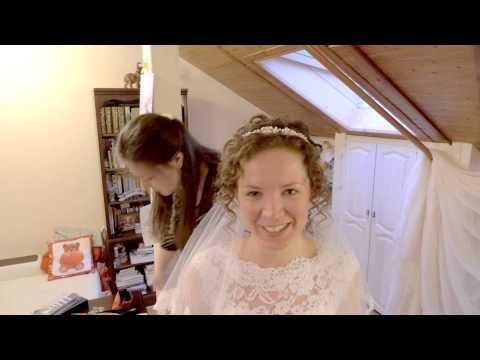 Свадьба моих друзей христиан-протестантов Нины и Максима. Начало фильма