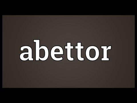 Header of abettor