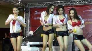 Thailand Motor Festival 2013 Car Wash FHM Girls-101