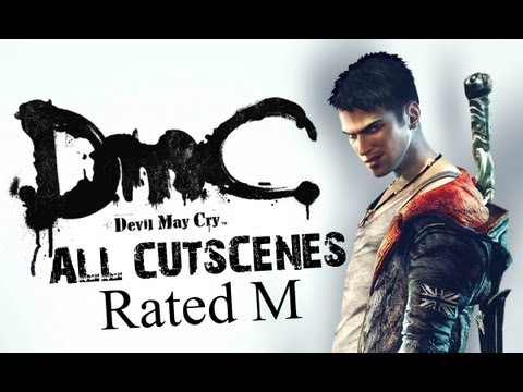 DMC Devil May Cry 5: All Cutscenes - Rated M (HD)